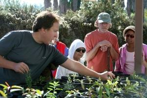 Ron at OVLC Nursery
