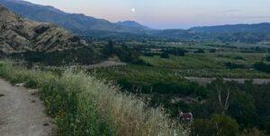 Sunset Moonrise Herb Walk @ Ojai Park & Ride for carpool to trailhead