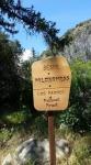 Sespe Wilderness sign